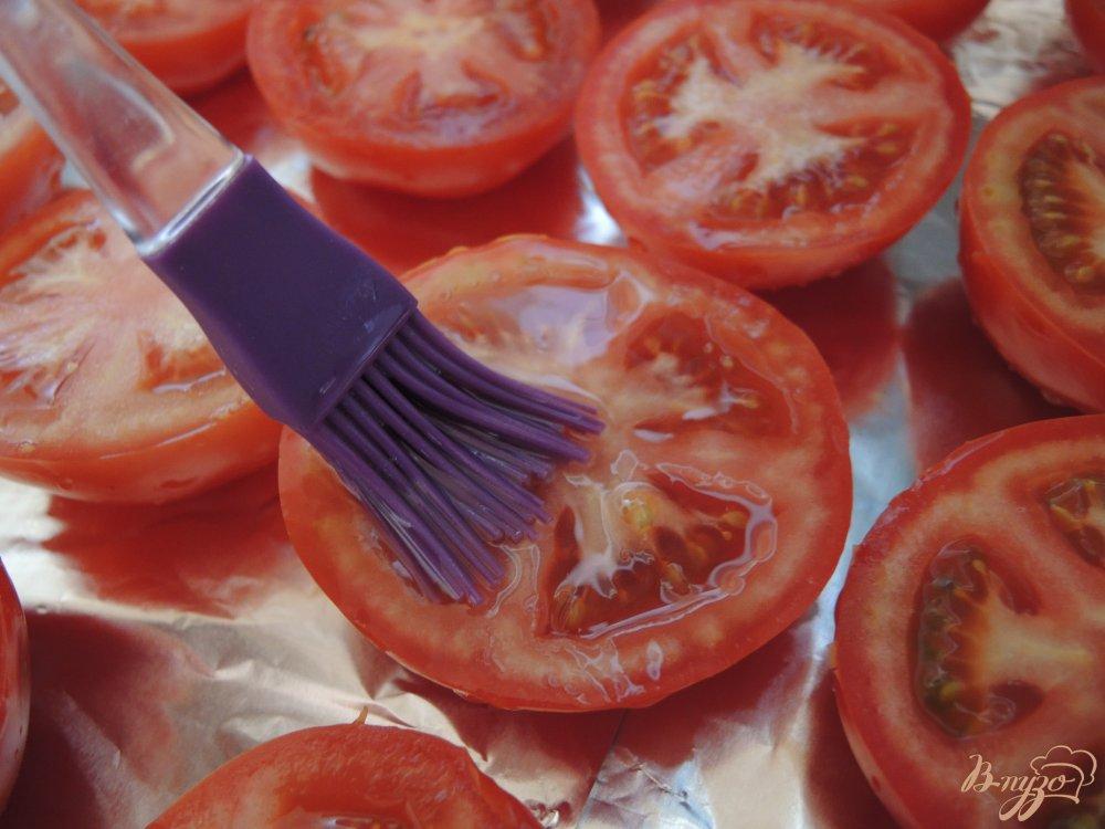 Фото приготовление рецепта: Вяленые помидоры шаг №3