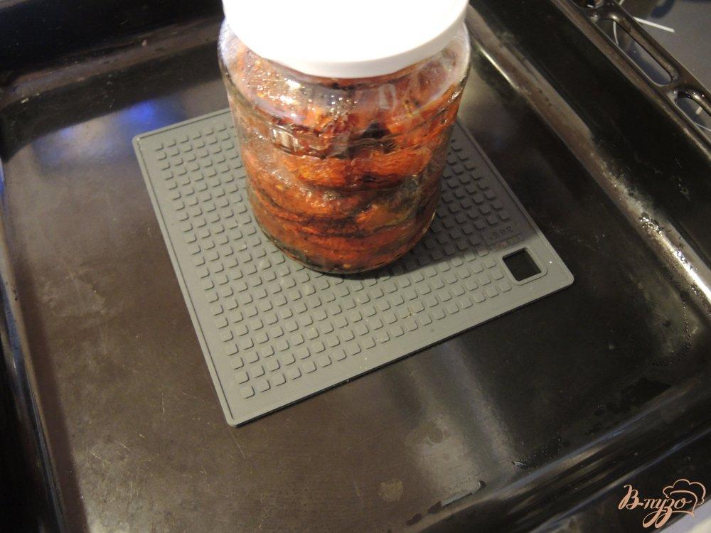 Фото приготовление рецепта: Вяленые помидоры шаг №8