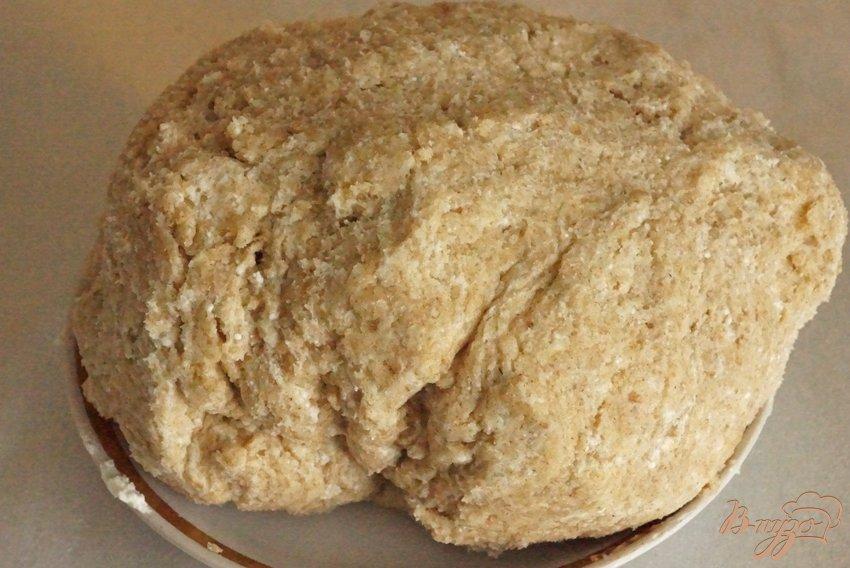 Фото приготовление рецепта: Пирог с начинкой из щавеля шаг №5