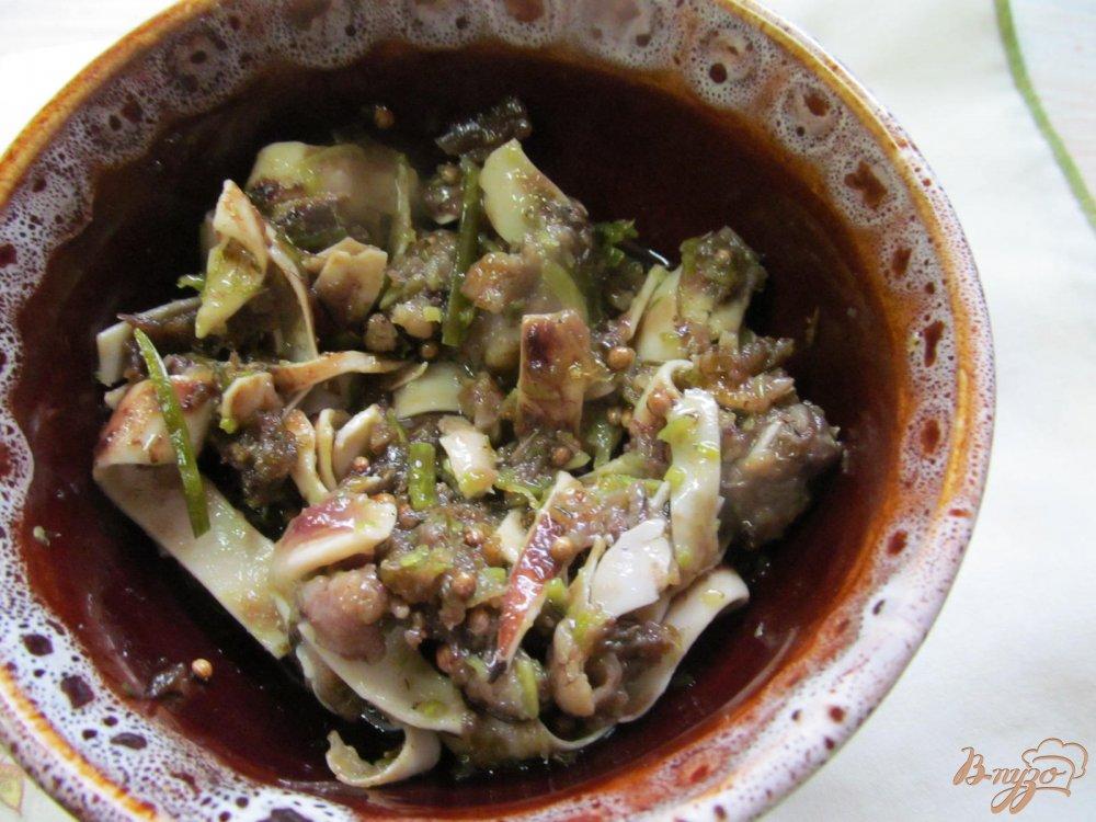Фото приготовление рецепта: Свиные ушки шаг №6