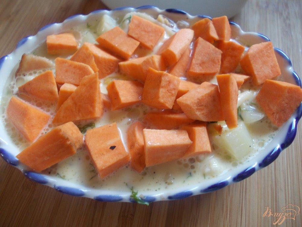 Фото приготовление рецепта: Картофельная запеканка по-крестьянски шаг №10