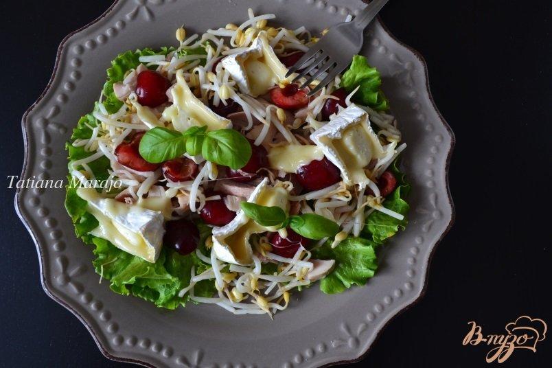 Рецепты салатов с копченой курицей с пошаговым