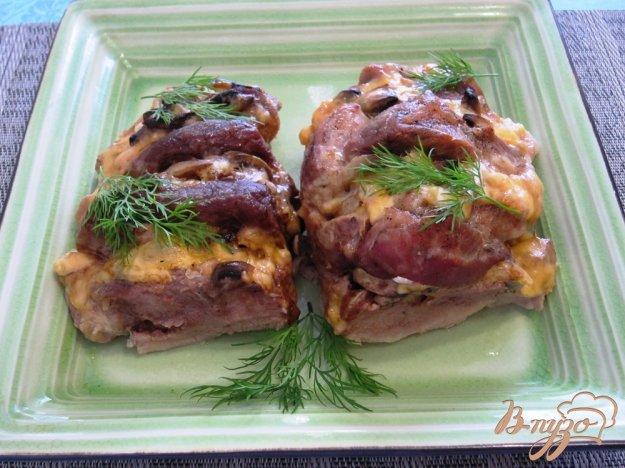 Свиная шея с грибами в духовке рецепты
