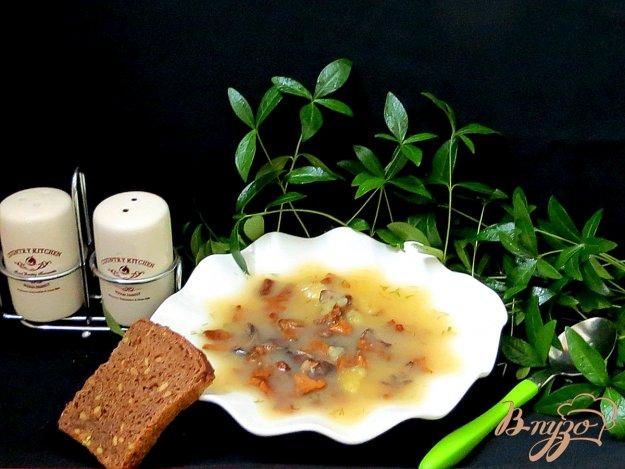 фото рецепта: Суп с лисичками
