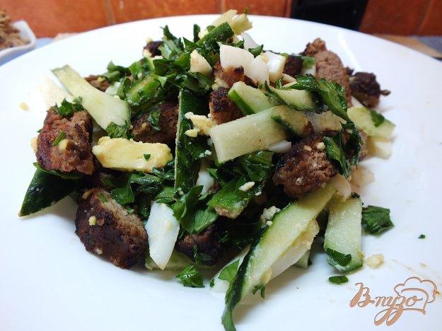 салаты с добавлением огурцов рецепты