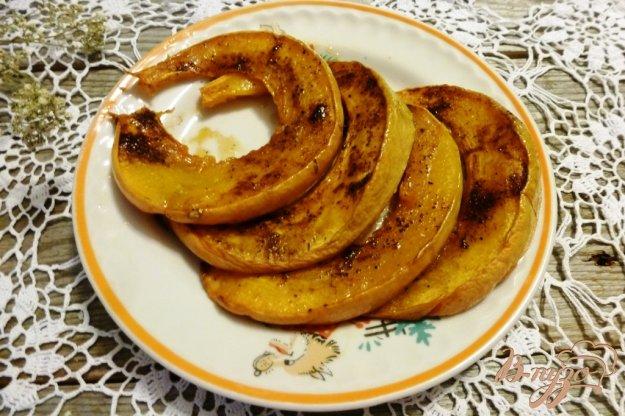 фото рецепта: Тыква,запеченная с медом и корицей