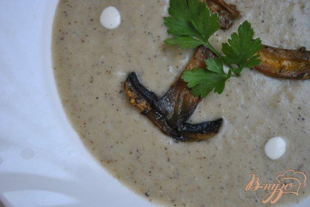 фото рецепта: Суп-крем с грибами и артишоками