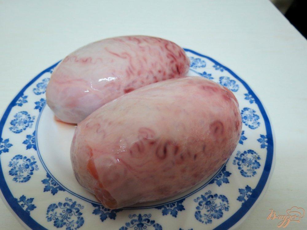 Рецепт Бычьи яйца со сметаной и кабачком.