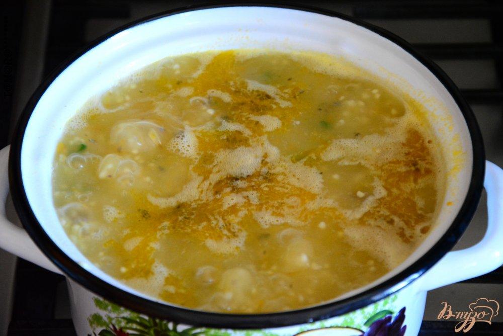 Рецепт супа с консервами и пшеном рецепт