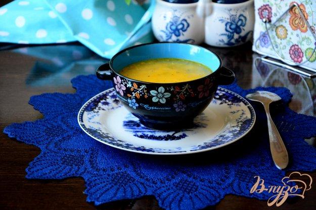 фото рецепта: Суп с пшеном и рыбными консервами
