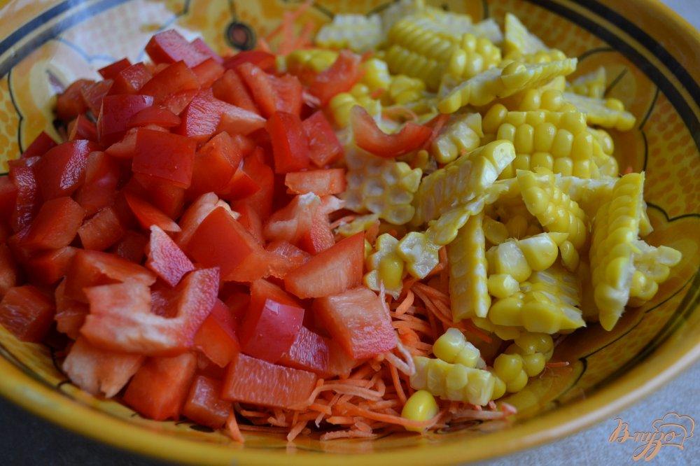 салат из кукурузы отварной