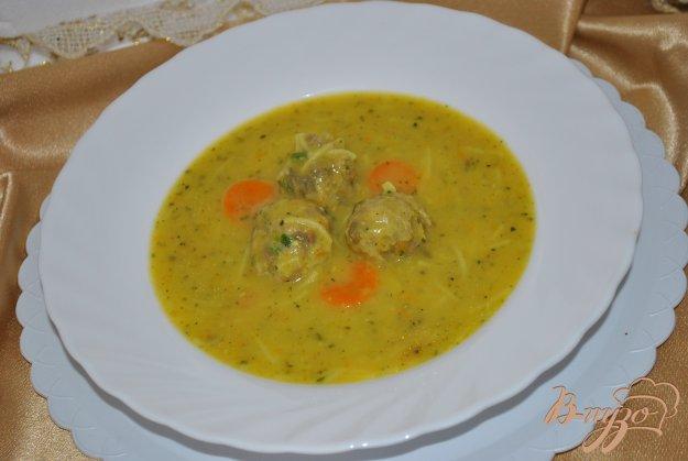 фото рецепта: Крем-суп с фрикадельками