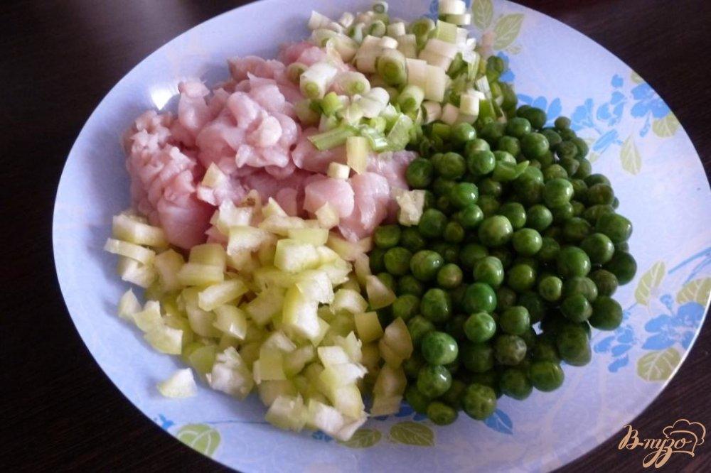 Рецепт Овощные котлетки с куриной грудкой