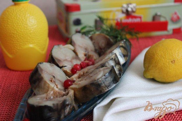 фото рецепта: Скумбрия, маринованная в черносливе