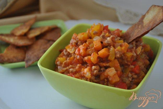 фото рецепта: Начос с мексиканской сальсой