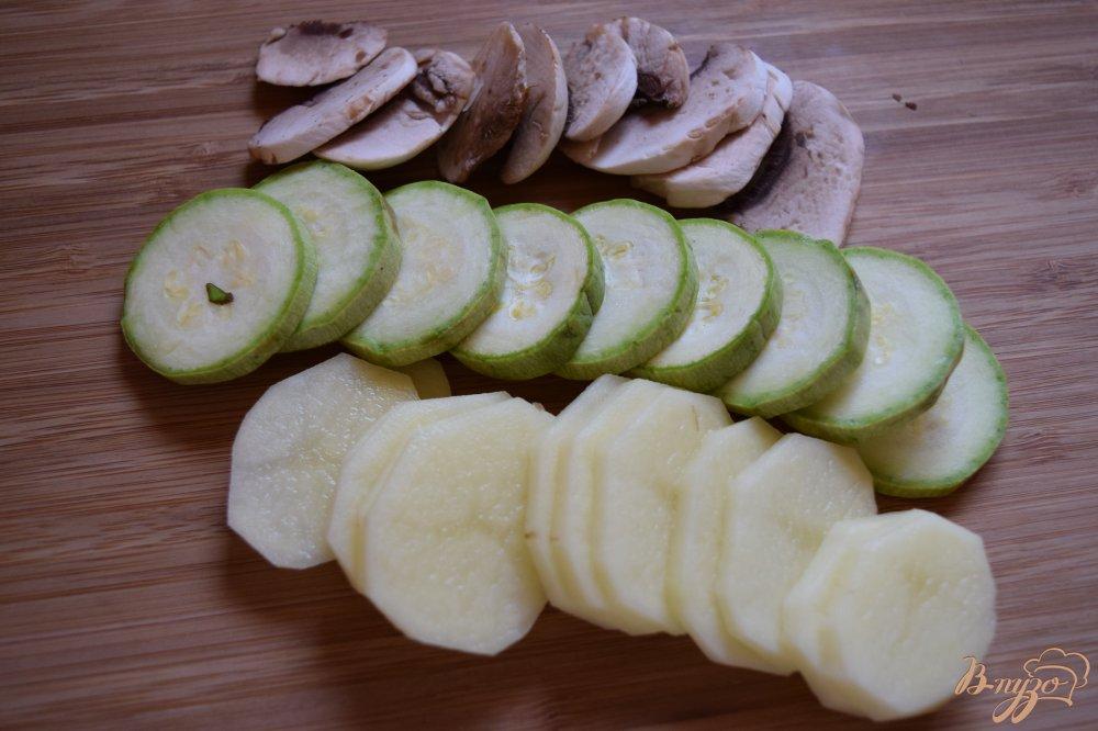 Рецепт Куриное филе запеченое с лимоном и овощами