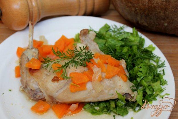 фото рецепта: Кролик маринованный в горчичном соусе