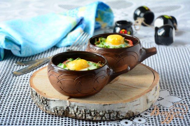 фото рецепта: Зеленая фасоль с яйцом