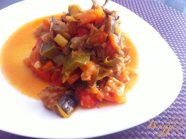 Овочеве рагу (рататуй). Як приготувати з фото