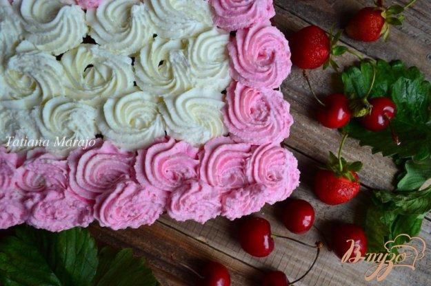 Рецепт тортов шоколадных со взбитыми сливками фото