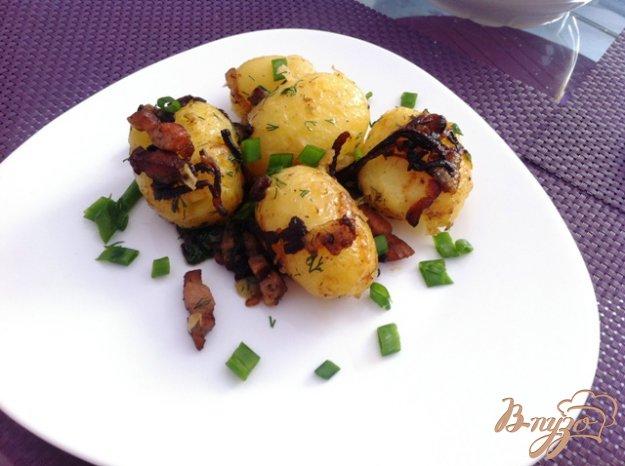 фото рецепта: Молодой картофель по-деревенски