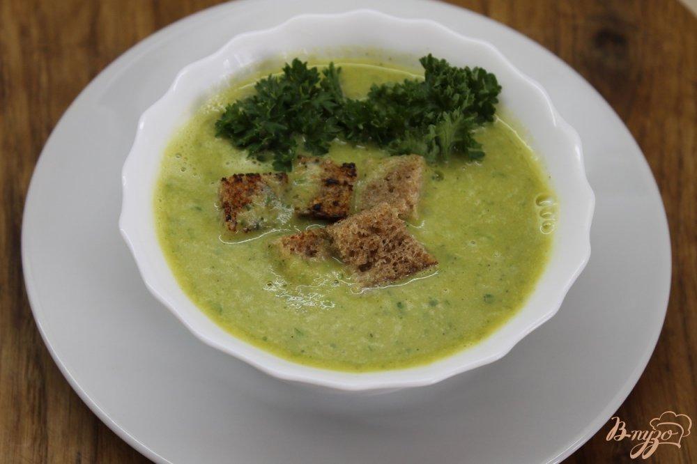 Суп пюре с кабачками рецепт пошагово