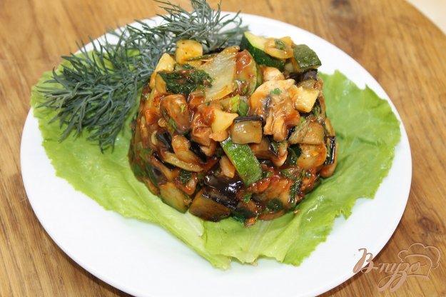 фото рецепта: Тушенный овощной рататуй