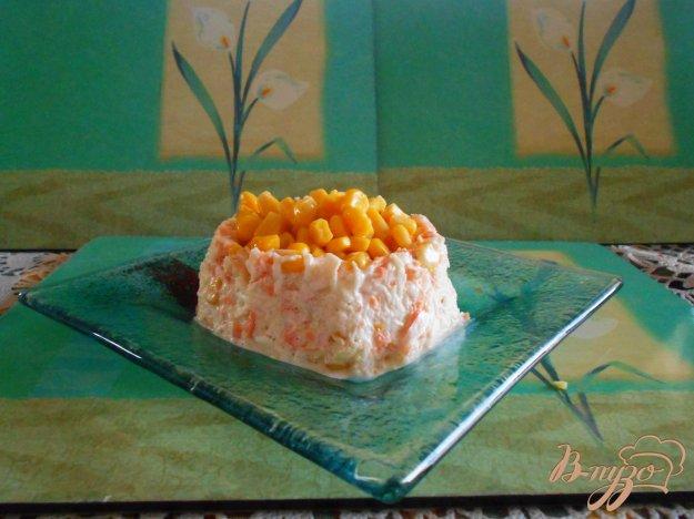 фото рецепта: Овощной салат с капустой и морковью