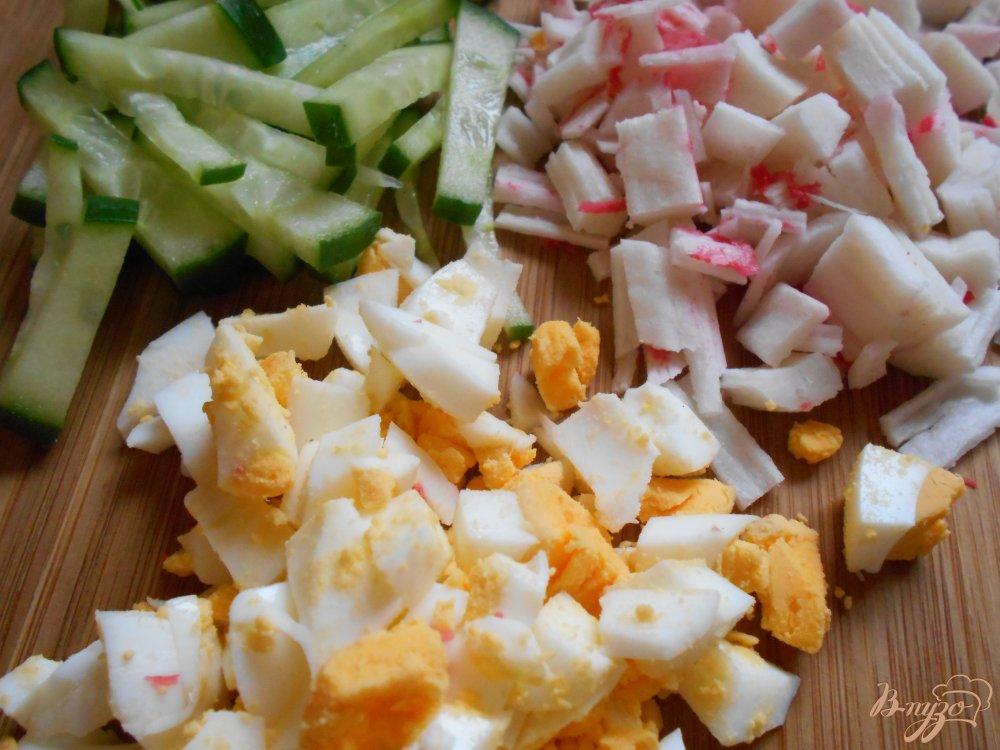 крабовый салат с корейской морковкой рецепт