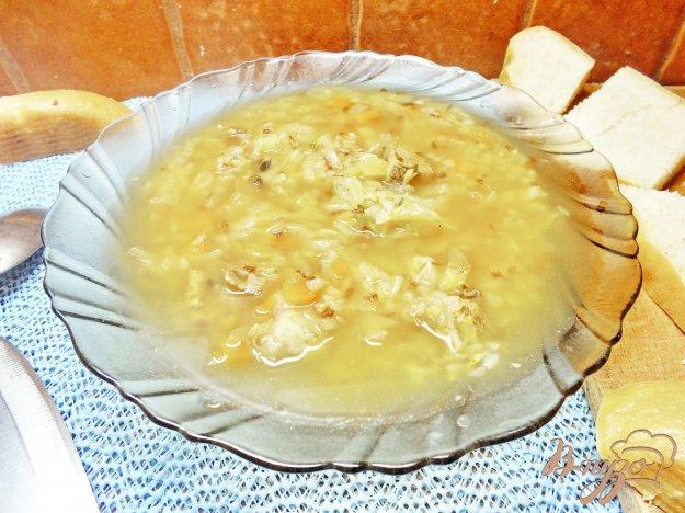 фото рецепта: Суп с гречкой с свеклой