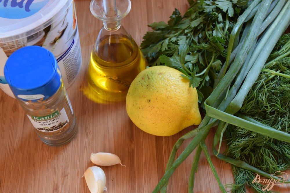 Рецепт Греческий соус на йогурте