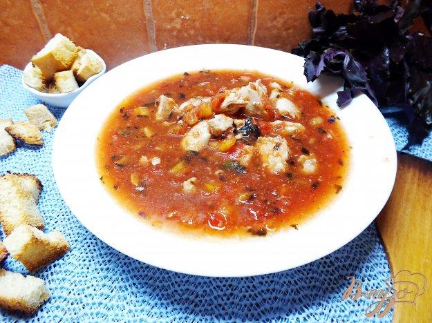 фото рецепта: Горячий томатный суп