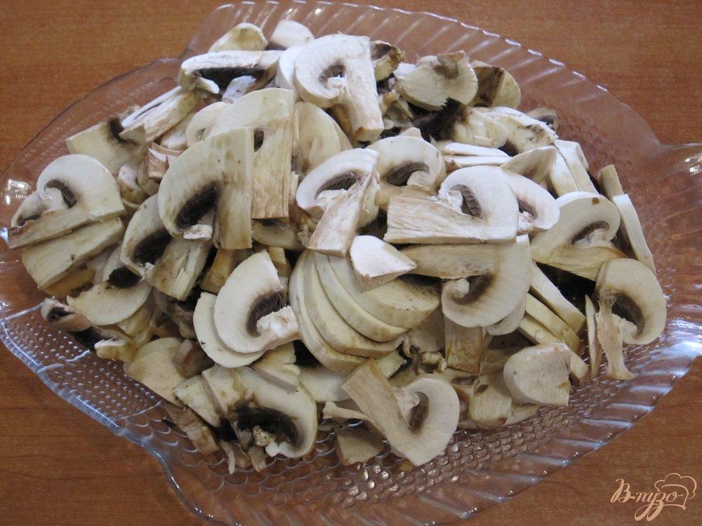 Фото приготовление рецепта: Тортилья с грибами и картофелем шаг №2