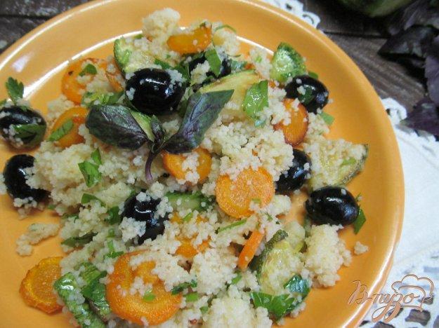 фото рецепта: Кус-кус с овощами