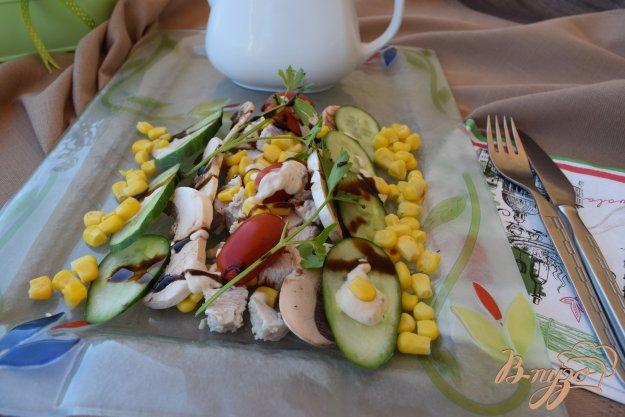 Салат из шампиньонов и курицы пошаговый рецепт