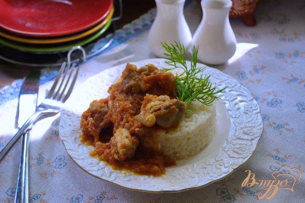 фото рецепта: Мясная куриная подливка с томатным соком