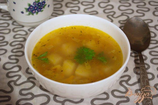 фото рецепта: Гороховый суп с картофелем ( без мяса)