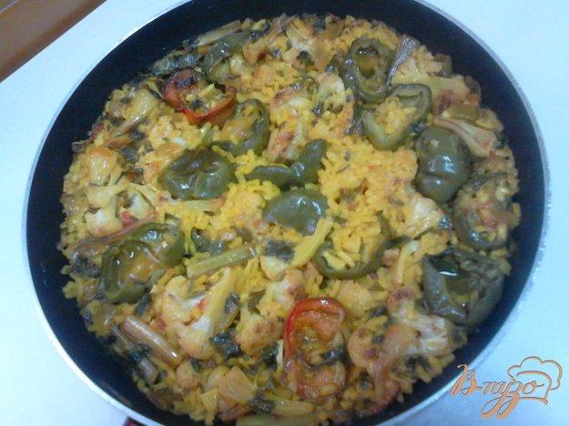 фото рецепта: Паэлья с овощами