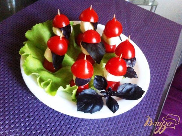 Закуски с помидорами черри