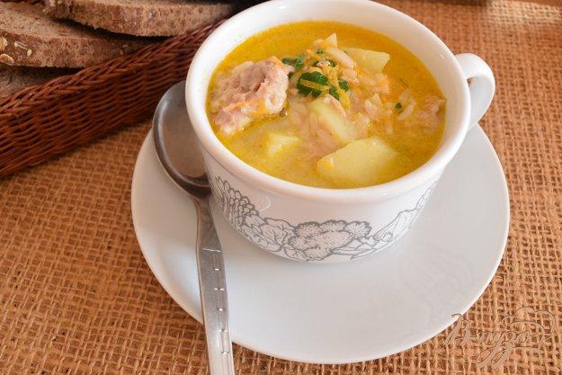 фото рецепта: Суп с рыбными шариками