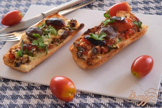 фото рецепта: Горячие бутерброды к завтраку