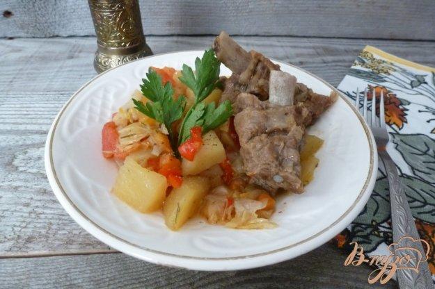 фото рецепта: Рагу из овощей с ребрышками