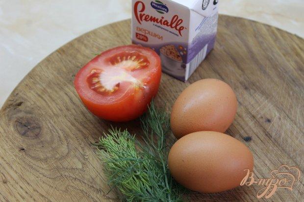 Рецепт Фриттата с помидорами и зеленью