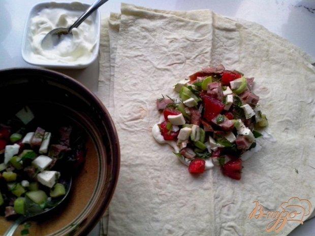 Конверт закусочный из лаваша