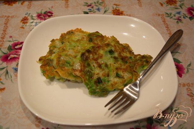 Капустные оладушки для легкого ужина