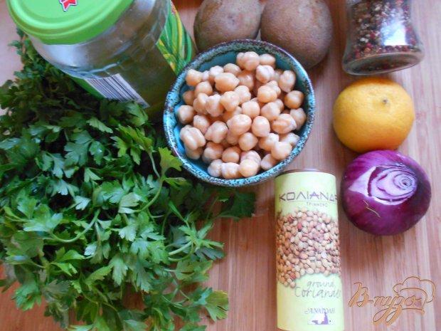 Рецепт Картофельный салат с нутом