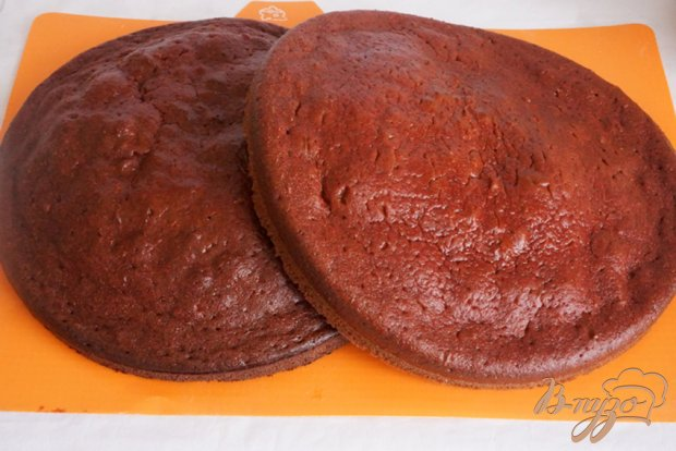 """Десерт по мотивам торта """"Красный бархат"""""""