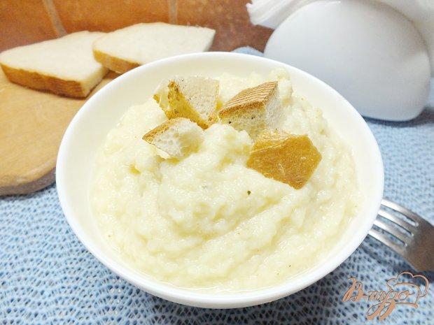 Суп-пюре из пастернака с сельдереем