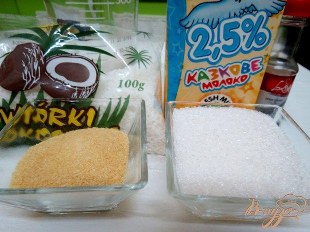 Рецепт Желе молочно - кокосовое
