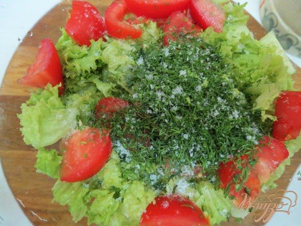 Салат из кабачков и капусты.